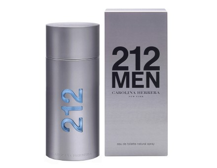 CAROLINA HERRERA 212 men eau de toilette, 100 ml