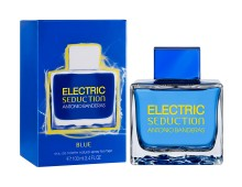 ANTONIO BANDERAS Electric Seduction Blue eau de toilette, 100 ml
