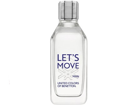 BENETTON Let's Move eau de toilette, 100 ml