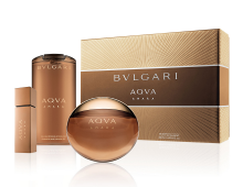Bvlgari Aqva Amara edt 100 ml, mini 15 ml, shower gel 200 ml