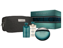BVL Aqva Marine EDT 100 ml, shower gel 75,after shave lotion 75 ml, pouch