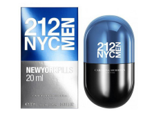 Carolina Herrera 212 NYC Men Pills eau de toilette, 20 ml