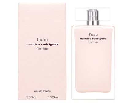 Narciso Rodriguez L'Eau For Her eau de toilette, 100 ml