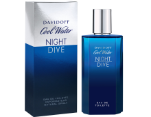Davidoff Cool Water Night Dive eau de toilette, 125 ml