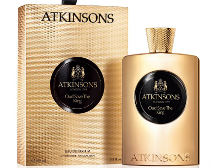 Atkinsons Oud Save The King eau de parfum, 100 ml
